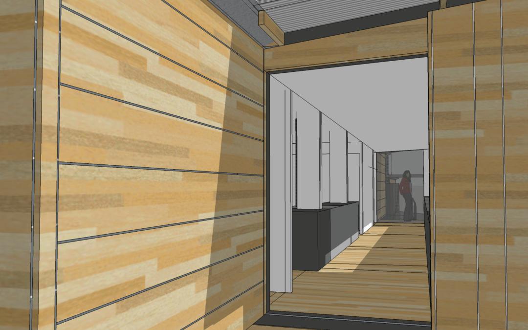 projet en cours – un plein pied tout en bois
