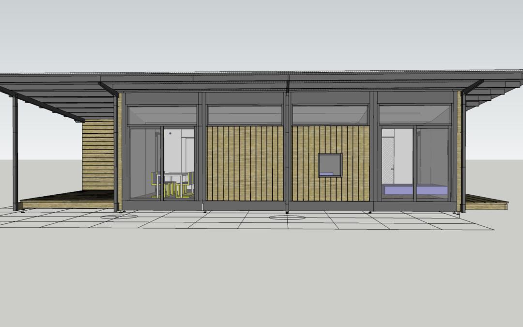 construction bois modulaire – un modèle fait avec la collection 2019 (avant première)