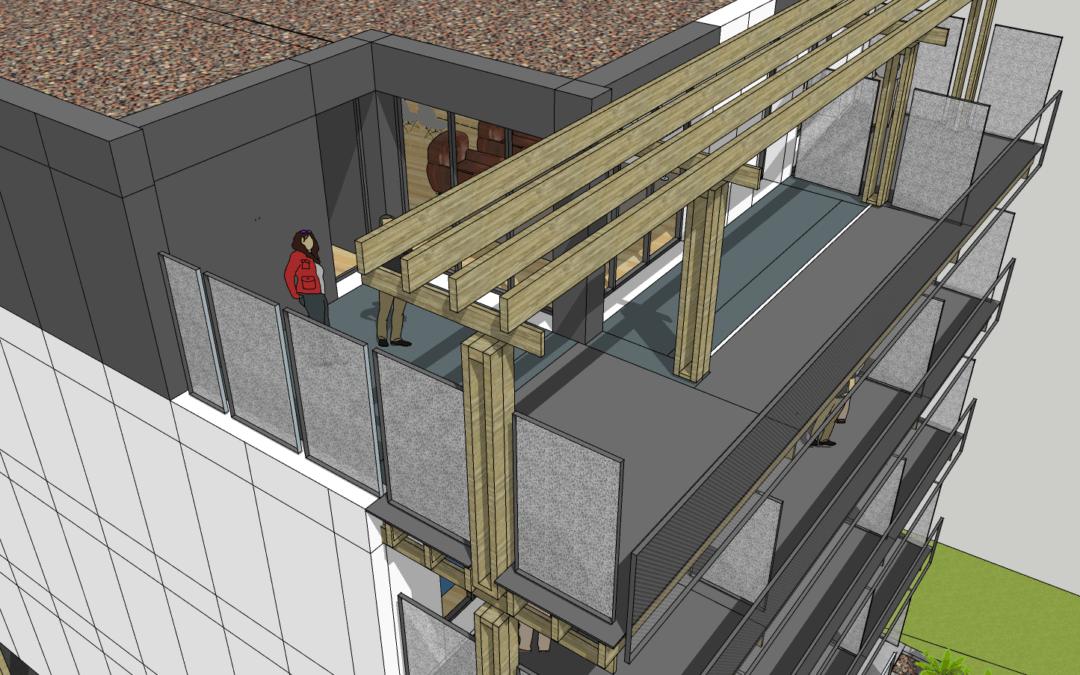 Crozon – appartement terrasse, vue panoramique sur la baie de Douarnenez