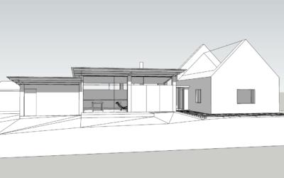 Morgat – extension d'un penty mode loft atelier