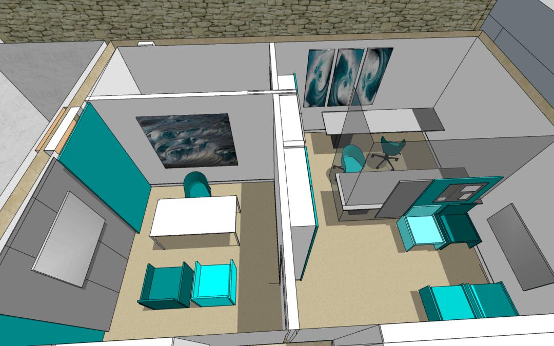 Plomodiern – un office notarial dans une ancienne cuisine industrielle