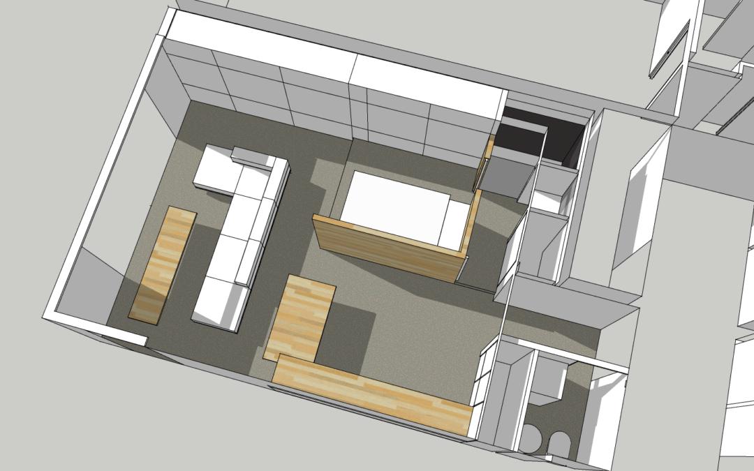 immeuble neuf à crozon – 2 pièces classique transformé en loft suspendu dans le ciel